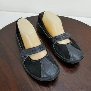 Privo Clarks 9.5M Mary Jane Comfort Shoes Leather